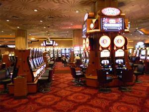 Imagem interna do cassino MGM Grand