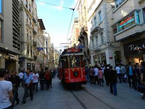 Bonde em Istambul, Turquia