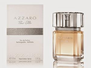 Frasco e caixa do perfume Azzaro Pour Elle