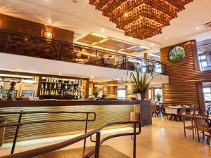 Foto de ambiente interno do restaurante Camarões Potiguar