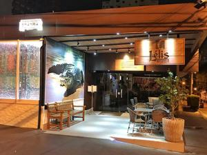 Imagem da fachada do restaurante Lélis Peixaria