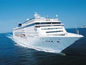 Imagem do navio MSC Opera