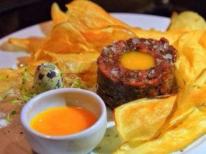 Foto de prato do Sur Arte Gastronomia