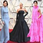 Atrizes no tapete vermelho do Oscar 2019