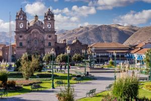Imagem da cidade de Cuzco no Peru